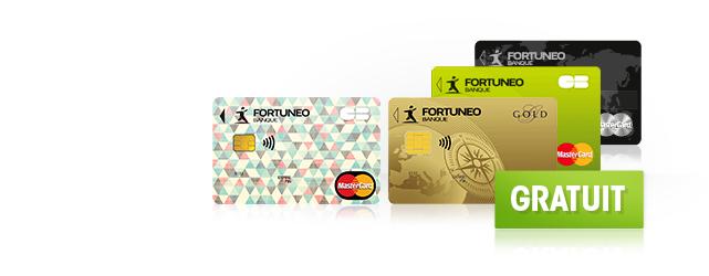 Votre carte bancaire gratuite